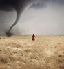 a waiting game (brianoldham) Tags: red storm field clouds dorothy horizon 365 tornado brianoldham