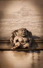 Thing (muzzafeet) Tags: stone architecture carving gargoyle oxford grotesque