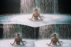 Reflito. (Letcia Bispo.) Tags: love water gua lago robot lomo df go lofi cerrado cachoeira chapada picol crrego amogua