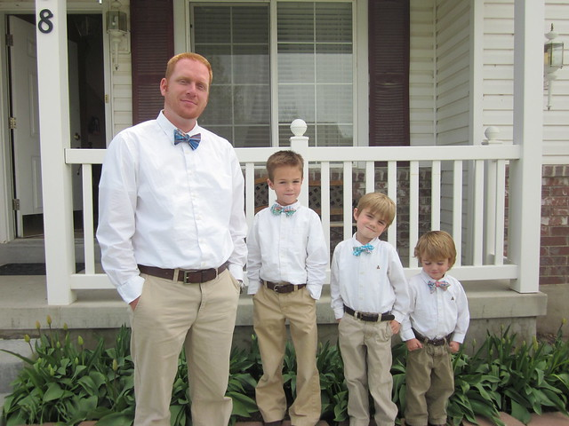 Bowties for Easter 2011