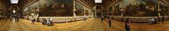 Versailles - Galerie des Batailles (360 Panorama) - 80Mpx (5500km) Tags: panorama paris france ledefrance paintings versailles tableaux peintures palaceofversailles busts chteaudeversailles bustes 80mpx ailedumidi musedelhistoiredefrance galleryofbattles