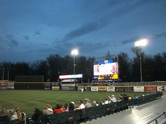 Harrisburg Senators vs. Trenton Thunder - April 23, 2011