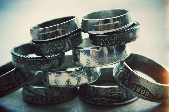 Old coins made to rings by Custom Coin Rings.jpg_effected