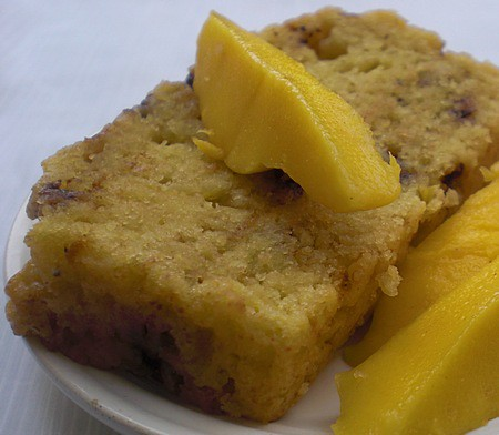Mango & Banana Bread – Season' First Mango Bake - Wellsphere
