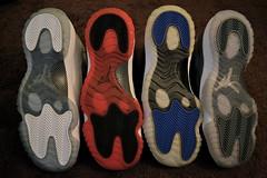 Air Jordan XI - Soles