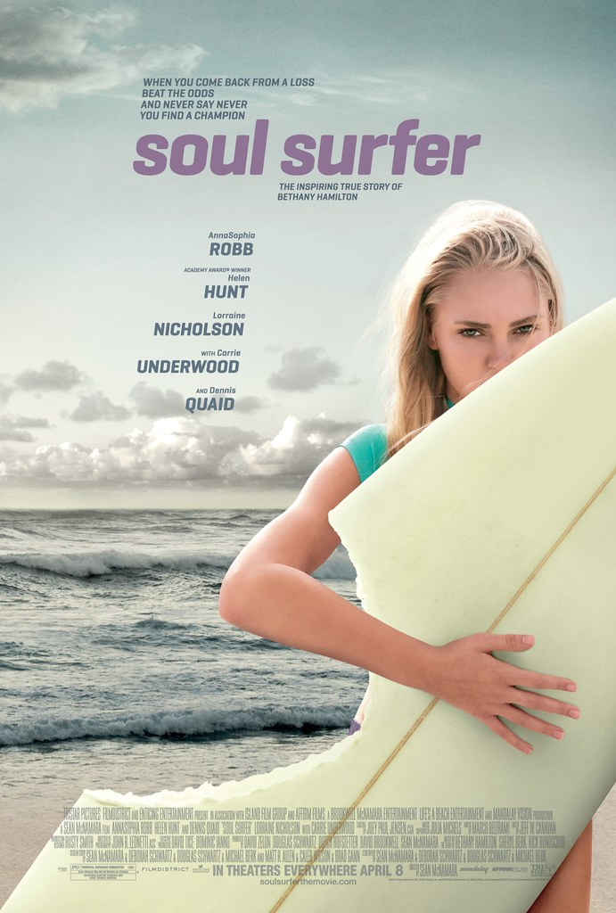 Soul Surfer Official Movie Poster