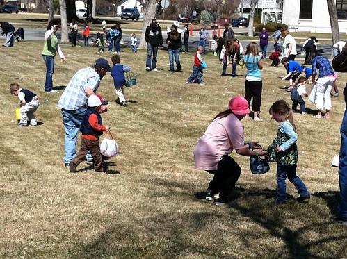 Mike, Gavin, Skylar, Tatum, and Easter Eggs!