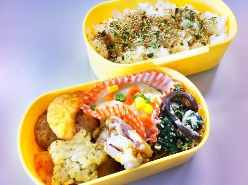 今日のお弁当 No.157 – 海苔わさび