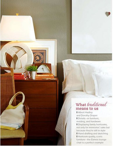 TradHome bedroom white linens