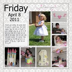April 8, 2011 (flakyredhead) Tags: scrapbook victoria load digiscrapping layoutaday