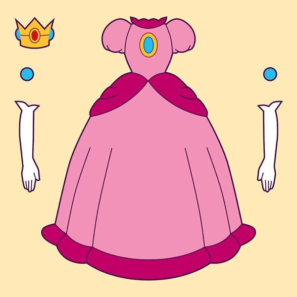 princess peach illustration