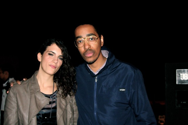 with Brazilian singer Céu.