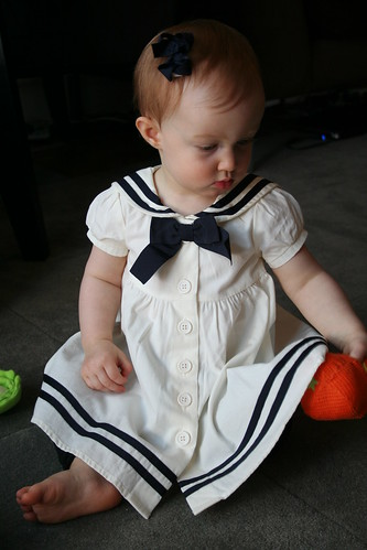 Can't beat a sailor dress