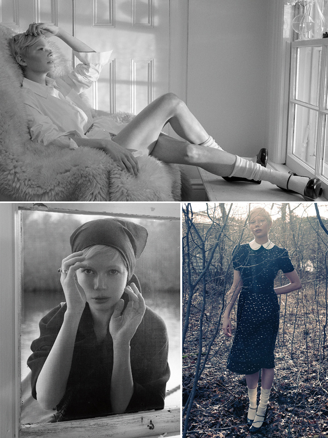 michelle williams: interview mag