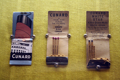 Queen Mary - Matchbook Display
