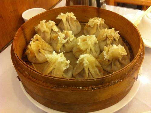 Lamb Shumai, Yi Lan Halal Restaurant, Main St, Flushing, Queens