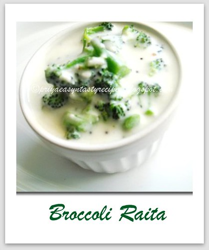 Broccoli Raita