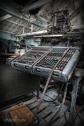 Abandoned Printingoffice