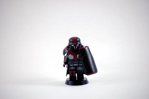 Custom minifig WIP Shock Trooper