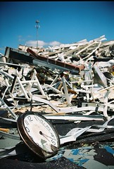 Destruction of gym at   Five : 2 Twenty (dbtrav) Tags: amazing tuscaloosa tornadodamage beautifulphoto brokenclock destroyedgym