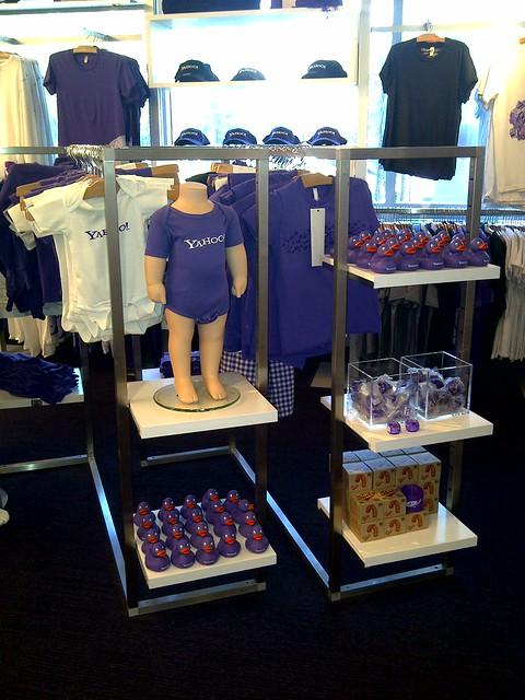Yahoo! Boutique im Headquarter in Sunnyvale