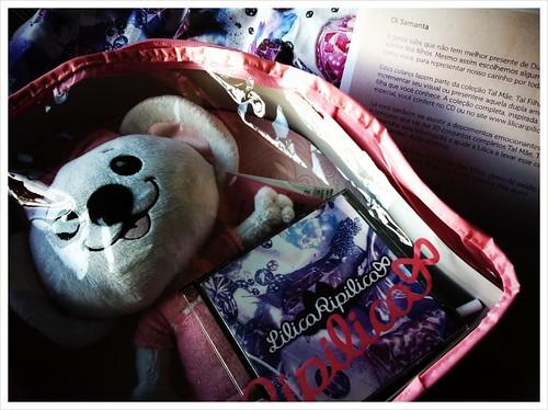 E a Lilica Ripilica mandou um kit Tal Mãe, Tal Filha que vou dividir com a afilhadinha mais nova, Elisa, que faz 4 anos no Dia das Mães :-)