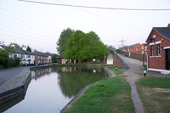 Coventry Canal Junction (Nik Sibley) Tags: bridge england greyhound sunrise dawn canal pub inn unitedkingdom britain coventry warwickshire hawkesbury coventrycanal suttonstop