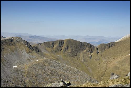 Devil's Ridge from Am Bodach