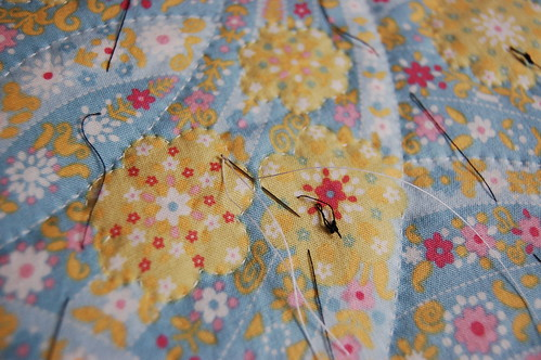 Hand quilting tips