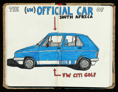 The (un)Official Car of South Africa