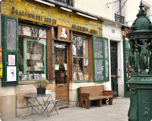 shakespeare and co Paris