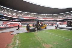 Segundo día de montaje - Estadio Azteca 12