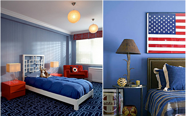blue and red bedrooms1