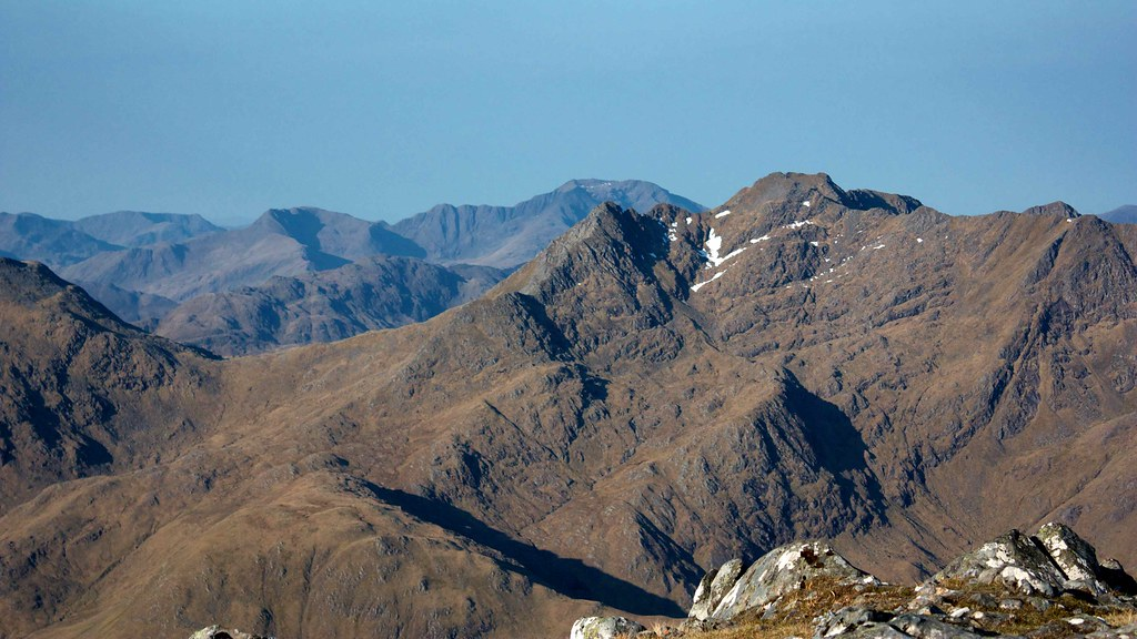 Ladhar Bheinn and The Saddle