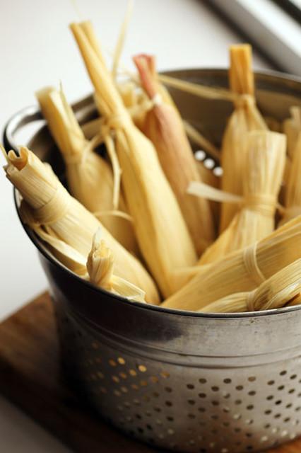 Basket o' tamales
