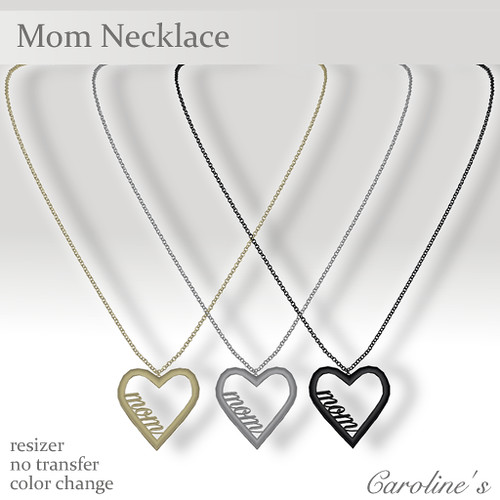 Caroline's Jewelry Mom Necklace