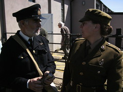 Metheringham 2011 026 (I Poper) Tags: female army military wwii ww2 afmc britisharmy reenactment reenactors rn ats pickering fleetairarm womeninuniform womenatwar warweekend femalesoldier womensmilitarycap metheringham2011