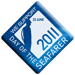 Seafarer Day 2011 Support Badge