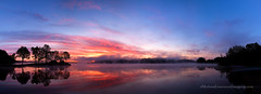 Marsh Creek Sunrise Pano (No_clever_names_left (Michael Lawrence)) Tags: sunrise canonef2470mmf28lusm marshcreeklake canoneos5dmkii 4shotverticalpano