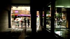 Impasse... (vero pérez) Tags: madrid street people urban rain calle lluvia gente urbana umbrellas paraguas