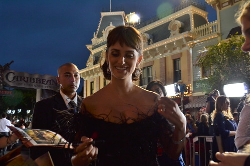 Penelope Cruz on the Pirates of the Caribbean: On Stranger Tides Black Carpet