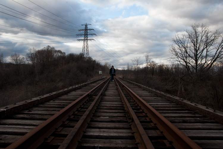 Taking the abandoned way