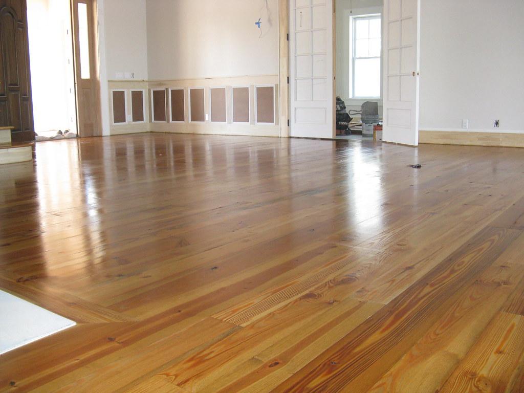 Heart Pine Floor 1