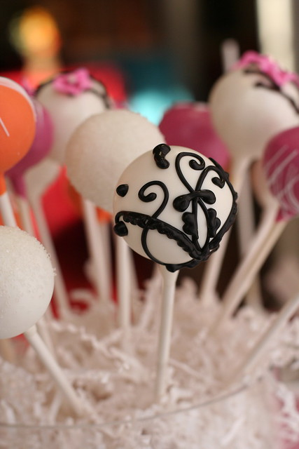 Fancy Cake Pop Design