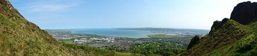 Belfast Lough from the Cave Hill Country Park