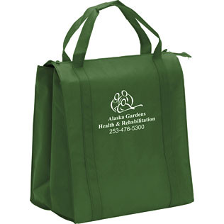 Promotional Products-Insulated Non-Woven Grocery Tote  14351R