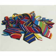 Wayne Thiebaud, Tie Pile, 1969, Sold for $2,098,500 at Sotheby's May 9 2011