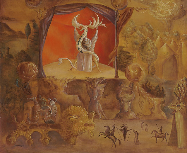Leonora Carrington -  The Juggler