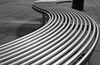 Smooth curves of Peckham...(Explored ~ Front Page - thanks!) (Lady Haddon) Tags: urban bw copyright london canon bench 50mm curves explore canon5d southwark allrightsreserved peckham hbm 2011 linesandcurves 100commentgroup kimhaddon kimhaddonphotography