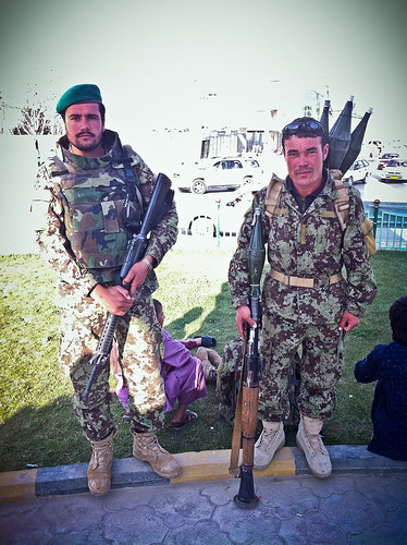Afghanistan's most heavily armed man